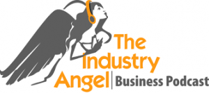 The Industry Angel Business Podcast Logo